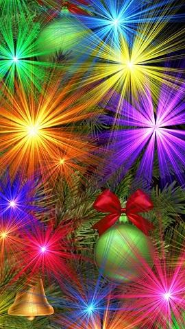 Colourful Christmas Lights