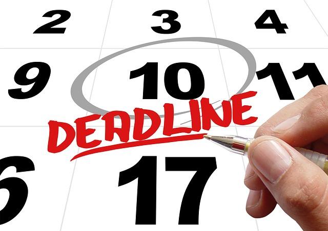 Meet your deadlines