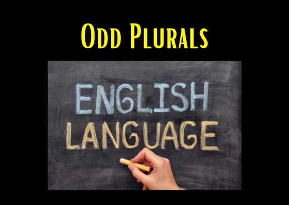 Odd Plurals