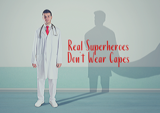 Real Superheroes Don't Wear Capes 2